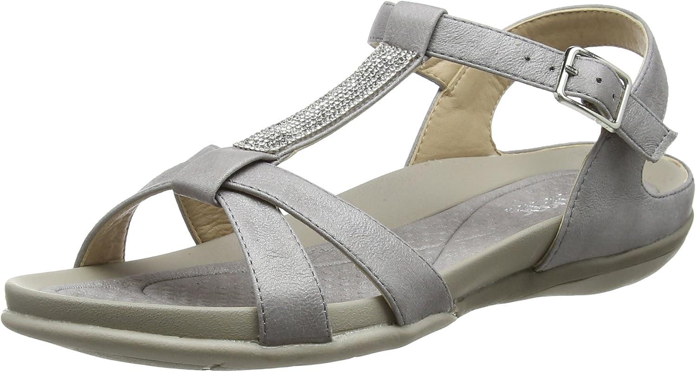Rieker Women Sandals Grey V9463-42