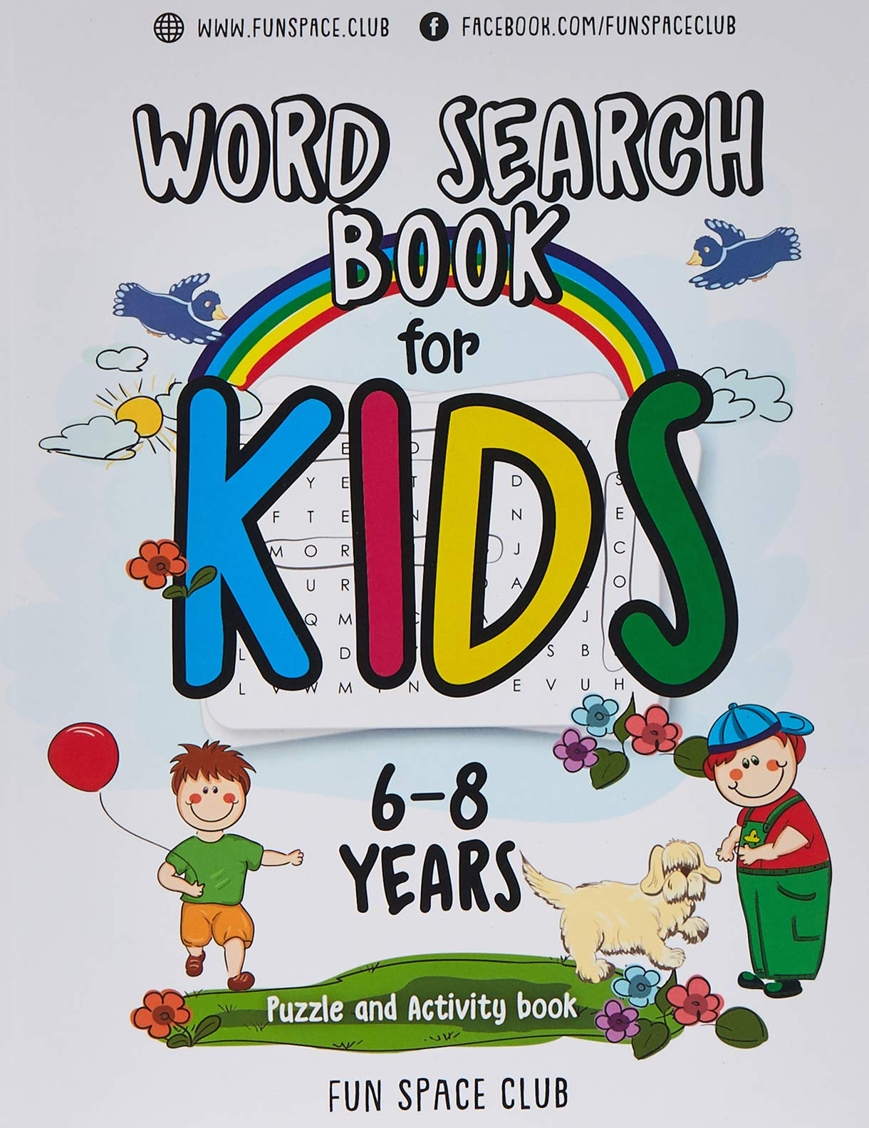 Download Word Search Books For Kids 6-8: Word Search Puzzles For Kids Activities Workbooks Age 6 7 8 Year Olds: Volume 2 (Fun Space... 