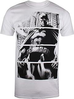 DC Comics Batman Panels Camiseta para Hombre