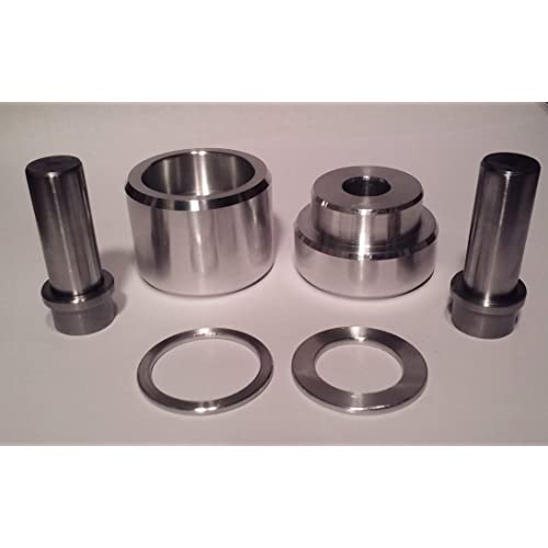 $10 off Comes with 1//2 Punch and Die Set. Coin Ring Center Punch for 50 Cent Piece Sale
