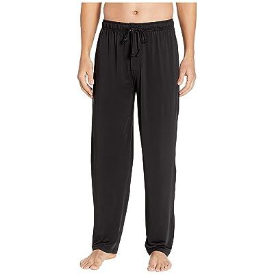 Jockey Cool-Sleep Sueded Jersey Pants (Black) Men