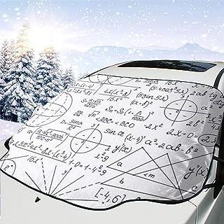 AoforzBrand Neue Verdicken Windschutzscheibenabdeckung Universal Car Cover Smart Windschutzscheibe Schneedecke Auto Anti-UV Nylon mit Sunction Cup Winter