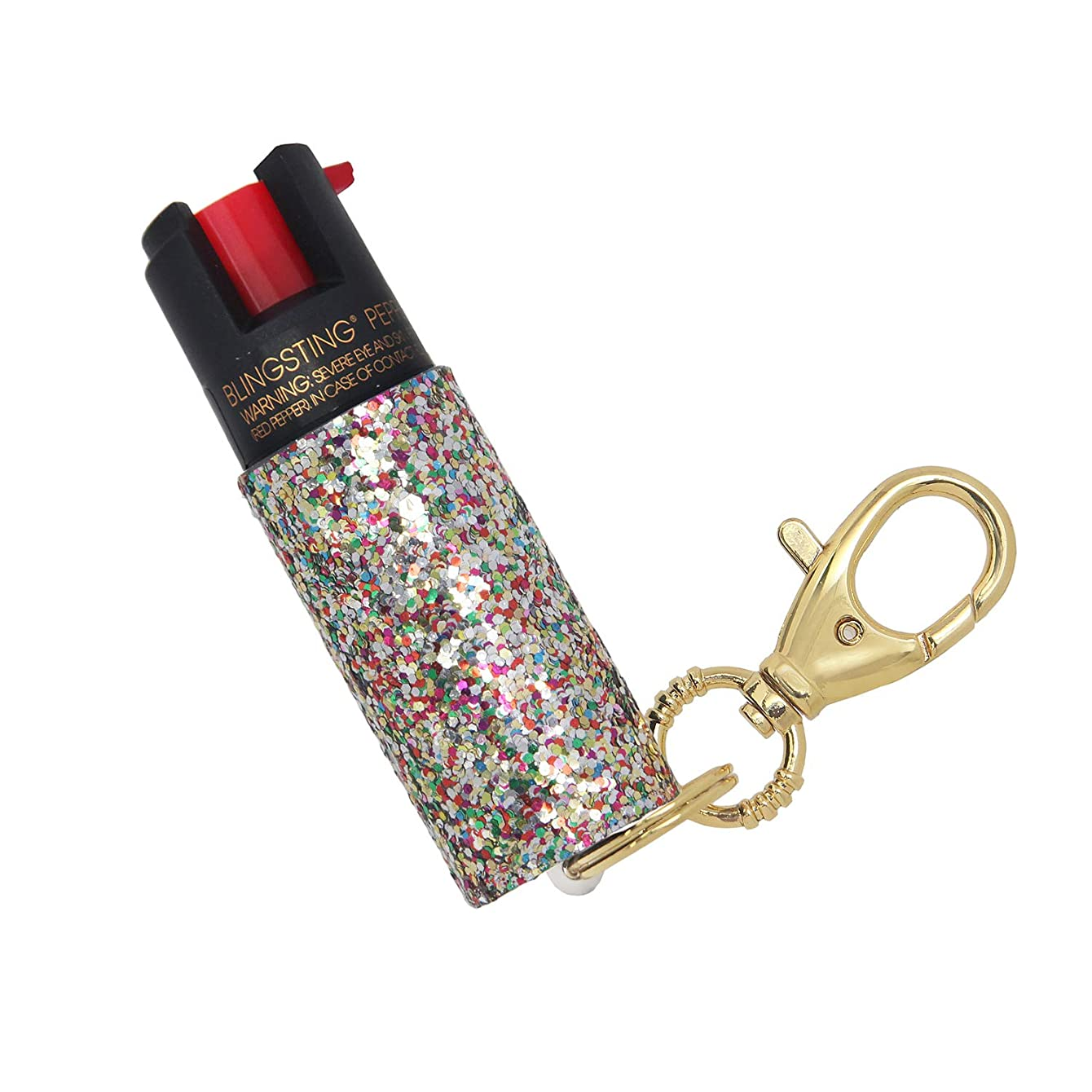 Pepper Spray Keychain for Women – Fashionable & Powerful, our 10% OC, No Gel Sprays Long Range and is Specifically Designed for Women, Safe, Accessible, Easy to Use, No Accidents, and Refillable