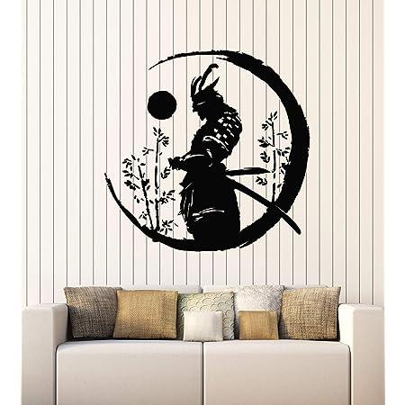 Details about  /Samurai Asian Wall Mural Vinyl Decal Sticker Decor Car Ninja Girl Woman Warrior