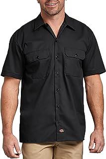 Dickies Mens Short-Sleeve Work Shirt