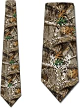 Hunting Ties Mens Camo Forest Camouflage Necktie by Three Rooker
