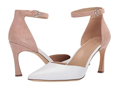 Naturalizer Aurelia (White Nude Leather/Suede) Women
