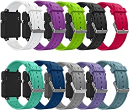 ZSZCXD Band for Garmin Vivoactive, Soft Silicone Wristband Replacement Watch Band for Garmin Vivoactive Sports GPS Smart Watch