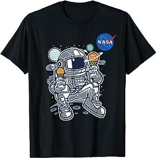 Astronaut Planet Ice-Cream NASA T-Shirt