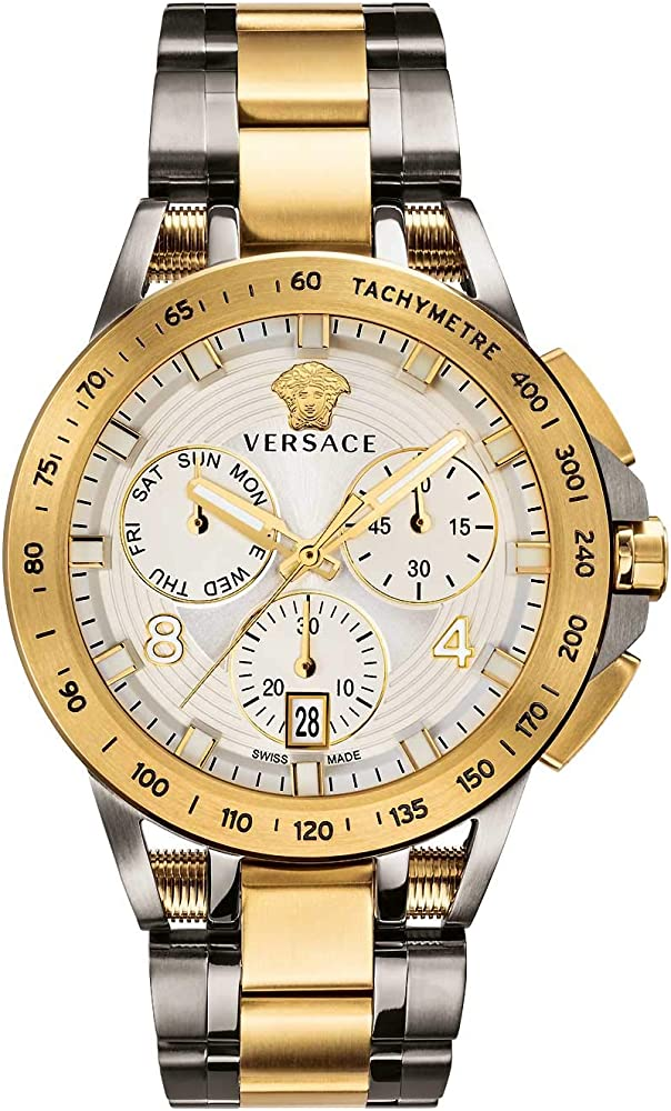 Versace sport tech heren orologio cronografo uomo in acciaio inossidabile VERB007 18