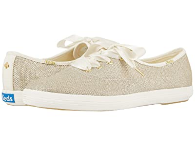 Keds x kate spade new york Bridal Champion (Ligth Gold Soft Lurex) Women