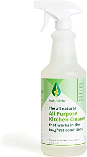 Naturama, All Natural All Purpose Kitchen Cleaner, Eco-Friendly EPA Listed. Made in the U.S. Removes bacteria and up to 99...
