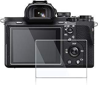 debous Screen Protector for Sony A7III A7R III A7II A7 III II A7M3 A7M2 A7SMII RX1 DSC-RX1 RII RX1R Cyber-Shot RX10 DSC-RX10 II III IV,0.3mm Anti-Scratch High Clear 9H Hard Tempered Glass (2pcs)