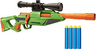 Buzz Bee Air Warriors Carnivore Toy Gun with Bolt Action Blasting (22m)