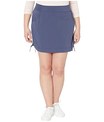 Columbia Plus Size Anytime Casualtm Skort (Nocturnal) Women