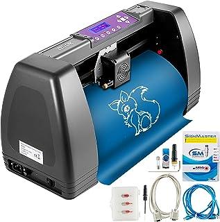 VEVOR 375 mm vinyl snijplotter 3 messen offline besturing plottermachine vinyl cutter plotter folieprinter professionele p...