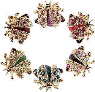 Retro Green Frog strass cristal Collier Broche de Noël bijoux de mariage
