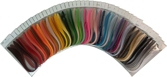 """3mm 50 per pack-rouge Quilling paper 0.125/"""""""