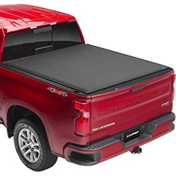 "Lund Genesis Elite Roll Up, Soft Roll Up Truck Bed Tonneau Cover | 96892 | Fits 2014 - 2018 GMC Sierra & Chevrolet Silverado 5' 9"" Bed (69.3"")"