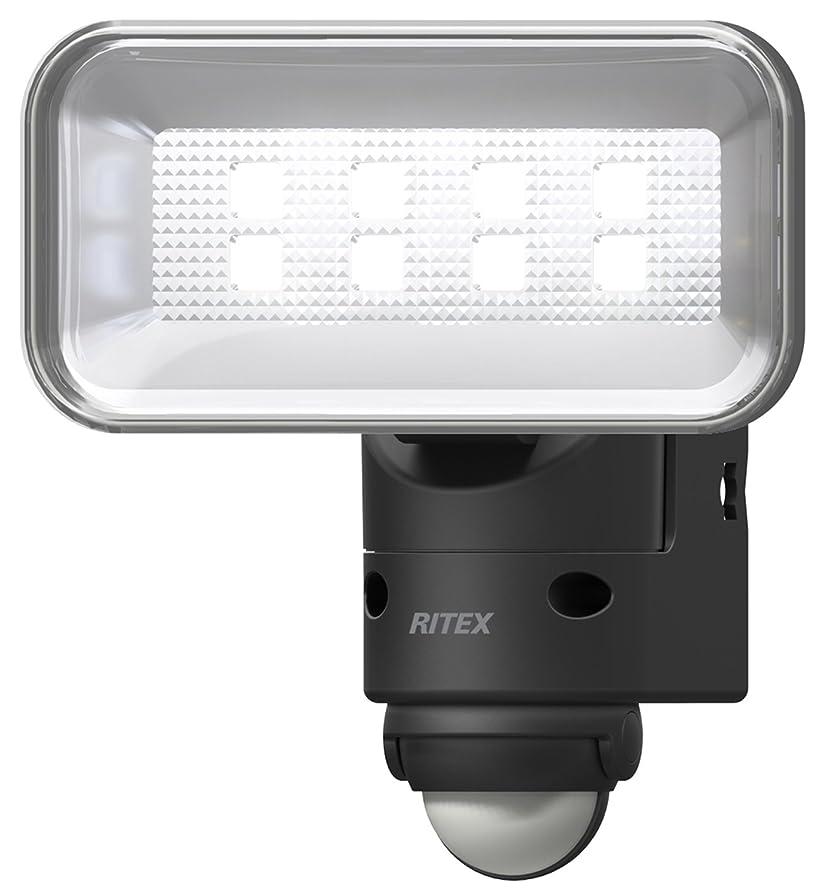 詩最少エレベータームサシ RITEX LEDセンサーライト(5Wワイド) 「コンセント式」 防雨型 LED-AC105