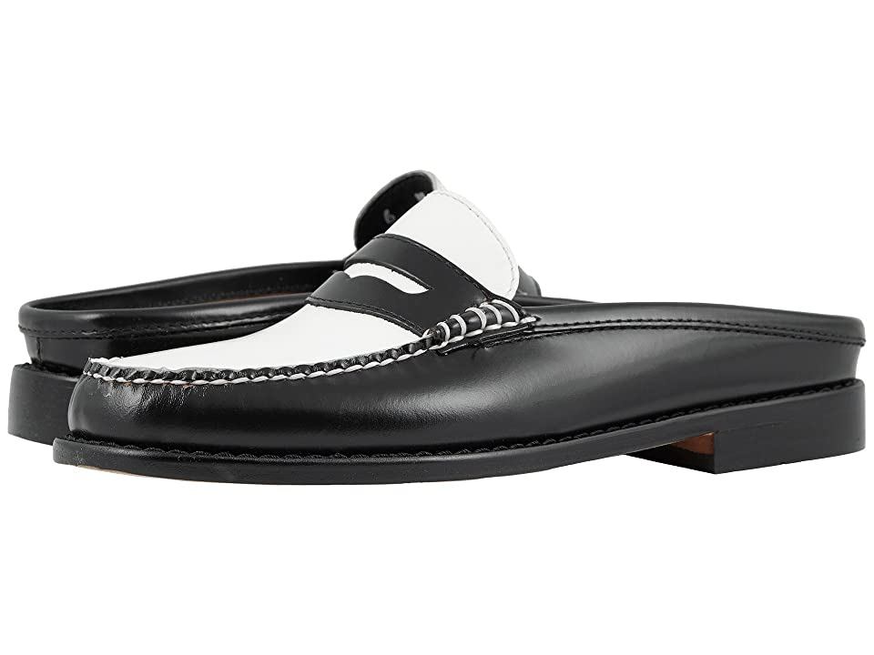 G.H. Bass & Co. Wynn Weejuns (Black/White Patent Leather) Women