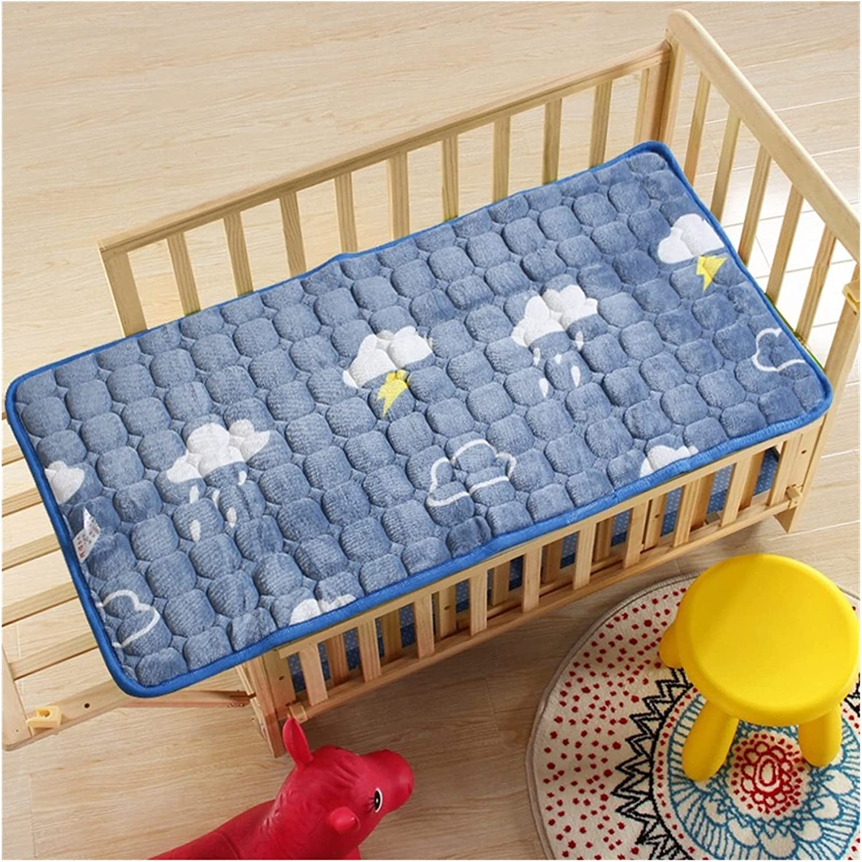 XUNWENR Crib Sheets Flannel Fees free!! Bed Flee Flat Warm Winter Max 90% OFF Sheet