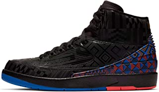 Nike Air Jordan 2 Retro BHM Black History Month BQ7618-007 Basketball Shoes