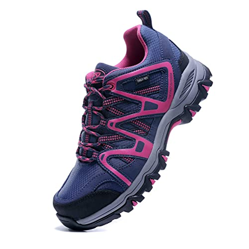 9b09a2d16ea The First Outdoor Women s First-Tex Water-Resistant Breathable Lightweight  Hiking Running Shoes Outdoor