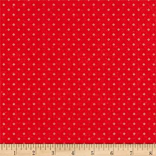 Riley Blake Designs Riley Blake Farm Girl Vintage Calico Red, Fabric by the Yard