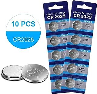 CR2025 3 Volt Lithium Coin Battery Type 2025 / DL2025 / ECR2025 (10-Pack)