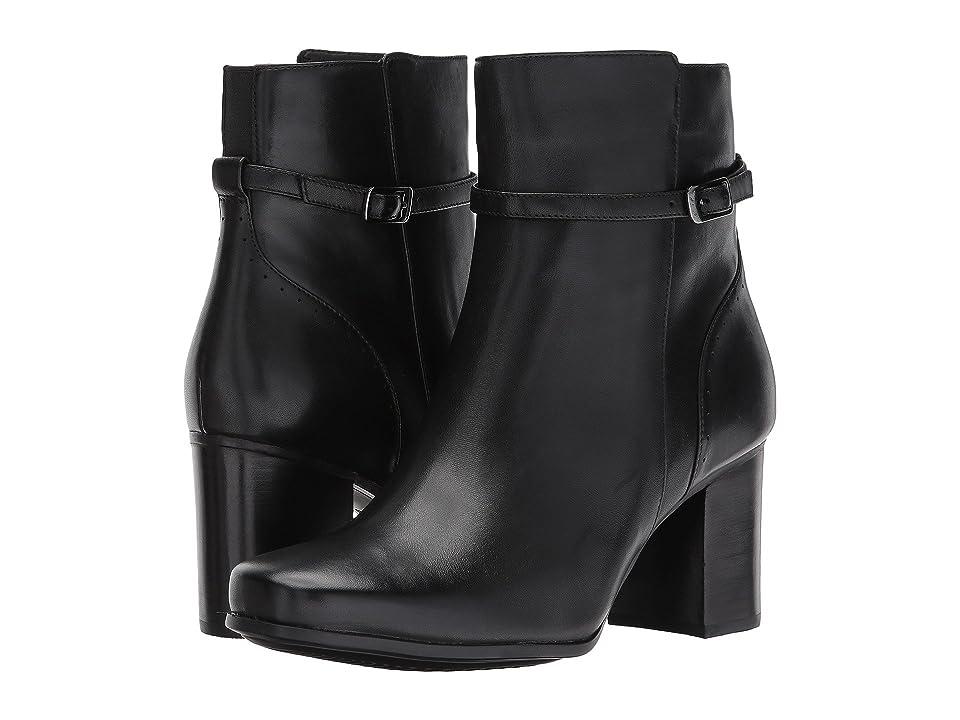 Clarks Kensett Diana (Black Leather) Women