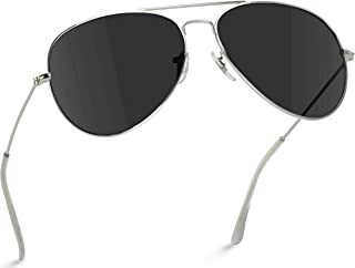 Best black and silver aviators Reviews