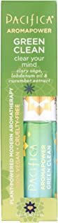 Pacifica Green clean aromapower roll-on aromatherapy, 0.30 Fl Oz