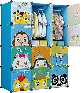 KOUSI Kids Dresser Kid Clothes Storage Organizer Baby Dresser Kid Closet Baby Clothes Storage Cabinet for Kids Room Baby W...
