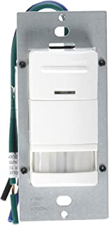 Leviton ODS10-IDW Decora Wall Switch Occupancy Sensor, 10-Pack, White
