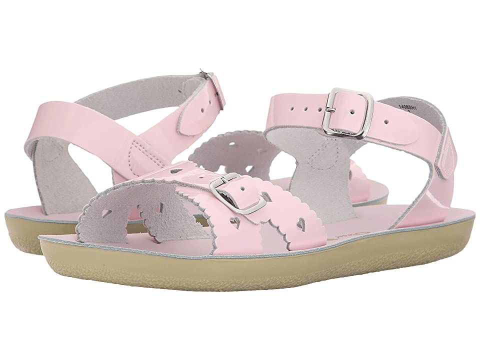 Salt Water Sandal by Hoy Shoes Sun-San Sweetheart (Toddler/Little Kid) (Shiny Pink) Girls Shoes