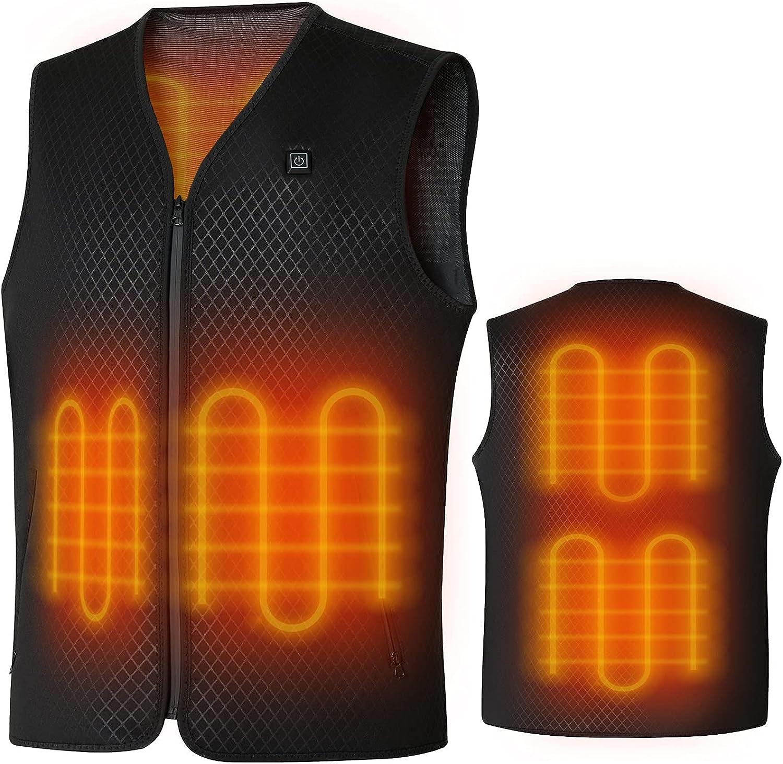 Lightweight Heated Vest for Men Women Nippon regular agency Charging New color USB H Electric 5V