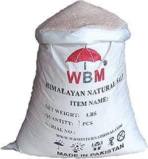 Himalayan Chef Natural Pure Himalayan Pink Salt, Fine Grain Salt, 50 lbs Bulk Bag