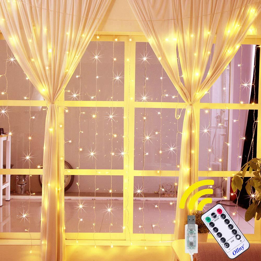 Ollny Curtain Bedroom Outdoor Decoration