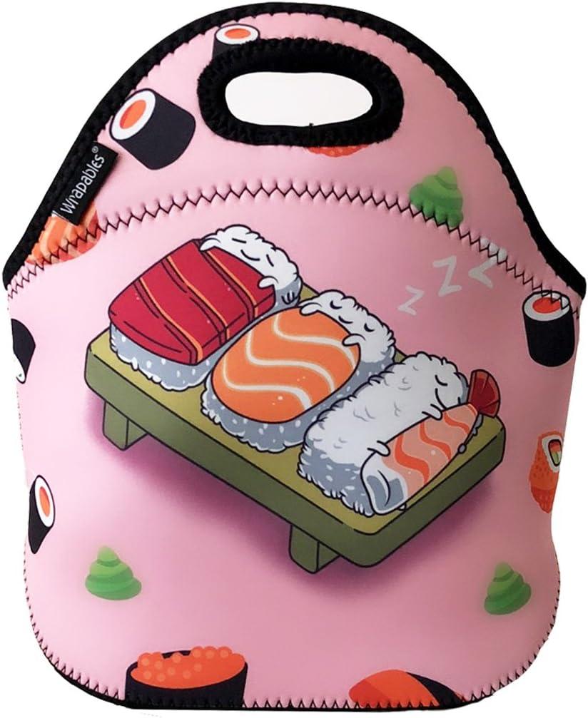 ALLYDREW Max 65% OFF Insulated Neoprene Cheap Lunch Bag Tote Sus Zipper Box
