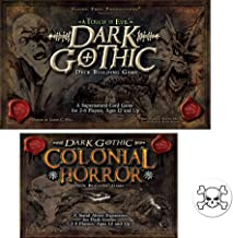Bundle of Dark Gothic Base Game and The Colonial Horror Expansion Plus One Skull and Crossbones Button
