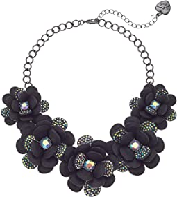 Large Flower Statement Necklace