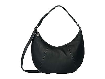 Lucky Brand Vala Shoulder (Black) Handbags