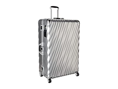 Tumi 19 Degree Aluminum Worldwide Trip Packing Case (Silver) Luggage