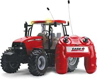 Racing Champions International - Tractor Case R/C Pilas con Luces Y Sonidos 120-42600