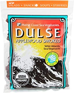 Smoked Dulse Whole Leaf | 2 oz Bag | Organic Seaweed | Maine Coast Sea Vegetables