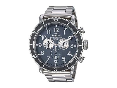 Shinola Detroit The Runwell Sport 48mm 20121780 (Gray/Stainless Steel) Watches