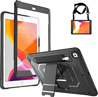 ProCase iPad 10.2 (2020 8th Generation/ 2019 7th Generation) Rugged Case with Screen Protector, Shockproof Heavy Duty Full...