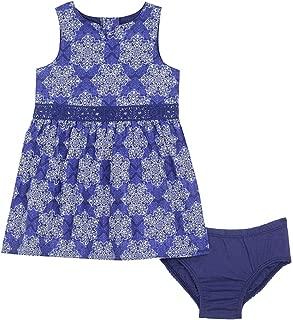 Nautica Girls' Poplin Bandana Print Dress