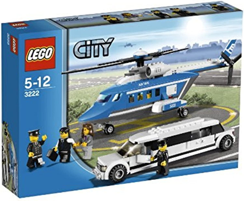LEGO City Set  3222 Helicopter Limousine